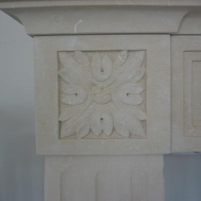 Chimney Decoration Botticino Classico